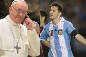 Video: Papa Francisco alienta a Argentina de cara al Mundial Brasil 2014