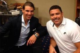 Video: Rafael Nadal venció a Ronaldo en un torneo de póker