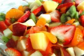 Recetas de navidad: ¿Cómo hacer la mejor ensalada de frutas navideña?