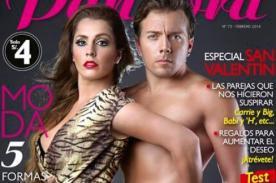 Yidda Eslava y Julián Zucchi posan juntos en portada de la revista Pandora