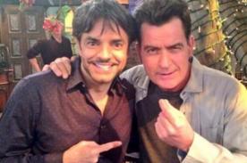 Eugenio Derbez aparecerá en serie de Charlie Sheen, 'Anger Management'