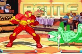 Friv: 'Marvel Tribute' - Juego friv de peleas con los personajes de Marvel