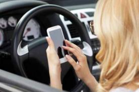 Impactante: Las terribles consecuencias de 'Whatsapear' al manejar - VIDEO