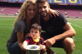 Shakira y su tierna manera de enseñar historia a Milan [Video]