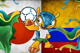 Japón vs. Colombia ATV En Vivo – Mundial Brasil 2014 (Hora Peruana)