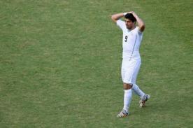 Mundial 2014: Luis Suárez se queda sin Mundial