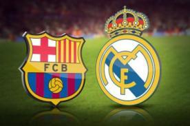 ESPN en vivo: ¿A qué hora juega Real Madrid vs Barcelona? Liga BBVA 2014