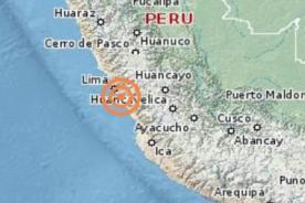 Temblor en Lima: Remezón de 5,2 grados sorprende en Barranca