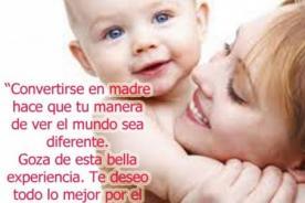 Reflexiones del Día de la madre con estas frases cortas