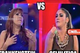 Difunden terribles memes de Tilsa Lozano y Magaly Medina