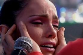 Combate: Paloma Fiuza sufre accidente en vivo - VIDEO