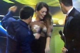 Yo Soy: Jazmín Pinedo debuta en el programa y deja en 'shock' a todos - FOTO