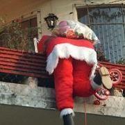 Doodle Navideño: Tejados de Papá Noel