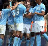 Goles del Manchester City vs Everton (2-0) – Premier League 2011/12