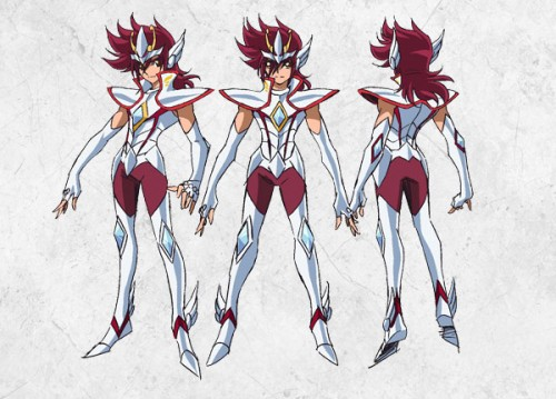 Saint Seiya Omega: Así son los diseños de los nuevos Caballeros del Zodíaco
