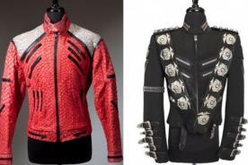 Trajes de Michael Jackson irán de gira mundial antes de ser subastados