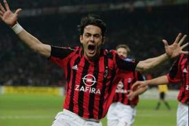 Filippo Inzaghi se retira para ser técnico de la cantera del Milan