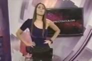 Video: Karen Schwarz tuvo pequeña metida de pata en su debut como conductora