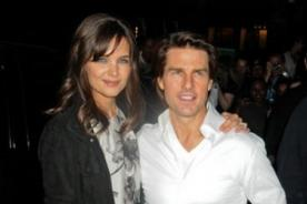 Tom Cruise y Katie Holmes están oficialmente divorciados