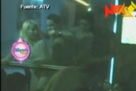 Magaly Teve: Dayán Cardosa es golpeado por su esposa - Video