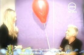 Yo Soy: James Hetfield peruano sorprende a profesora Nina Mutal - Video