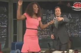 US Open 2012: Serena Williams celebra su título cantando en TV - Video