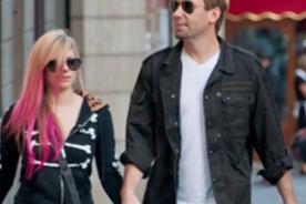 Avril Lavigne planea una boda única estilo rock n' roll