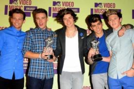 MTV EMA 2012: One Direction supera a Justin Bieber con los Mejores Fans