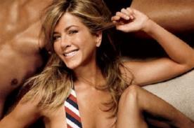 Revelan que Jennifer Aniston es muy buena haciendo el baile del tubo