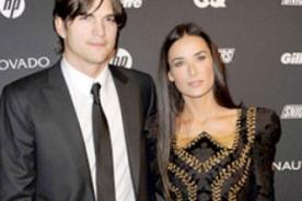 Ashton Kutcher y Demi Moore inician oficialmente el proceso de divorcio