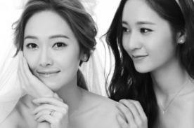 Jessica de Girls Generation posa para bellas fotos matrimoniales