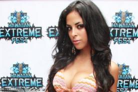 Andrea Luna lucirá toda su belleza en Hawaiian Extreme Fest