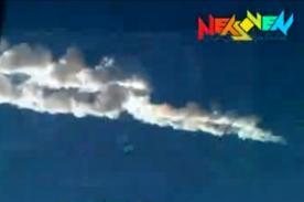 Meteorito en Rusia: Recopilación de imágenes impactantes - Videos