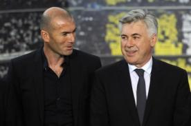 Esto fue lo que opinó Carlo Ancelotti de Zinedine Zidane y Ronaldo