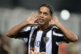 Ronaldinho: Es una alegría muy grande tener el placer de hacer todo esto