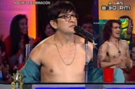 Yo Soy: Fernando Armas se 'desnuda' por imitador de Enrique Bunbury