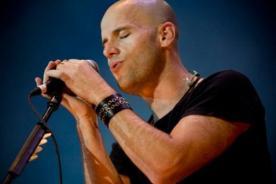 Gian Marco contó en concierto que sueña en ser productor musical