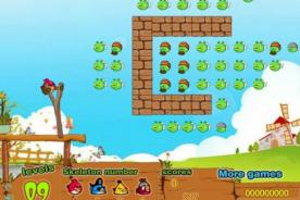 Juegos Friv de Angry Birds: Aniquila a los cerditos con este juego friv