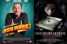 Cine peruano: Las 10 películas más taquilleras de 2013
