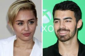Miley Cyrus asegura que no obligó a Joe Jonas a fumar marihuana