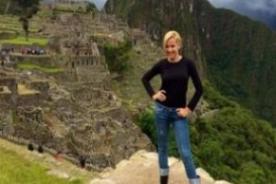 Fanny Lu: 'Perú, país de contrastes. ¡Enamorada del Perú!'