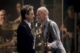 Actor de Iron Man cantó con Sting un éxito de The Police - VIDEO