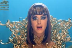 Katy Perry borra una parte de su videoclip 'Dark Horse' (Video)