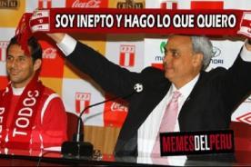 FPF: Manuel Burga es blanco de memes por su gestión perdedora en lo deportivo - FOTOS