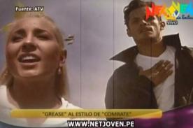 Combate: Yamila y Nikko Pone protagonizan video de 'Grease'