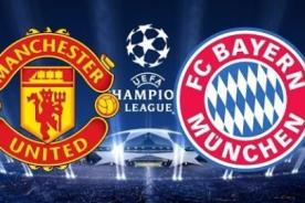 Champions League: Bayern Munich vs Manchester United en vivo por ESPN