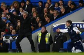 Mira la eufórica celebración de Mourinho en el gol de Chelsea - VIDEO