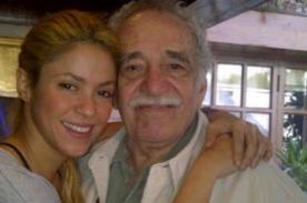 Shakira escribe emotivo mensaje por la muerte de Gabriel García Márquez