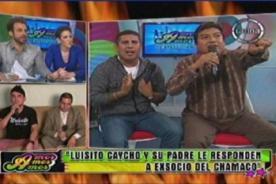 Twitteros peruanos piden que saquen del aire a Luisito Caycho