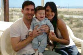 Mundial Brasil 2014: Hijo de Messi alienta a su papá desde la tribuna [FOTO]